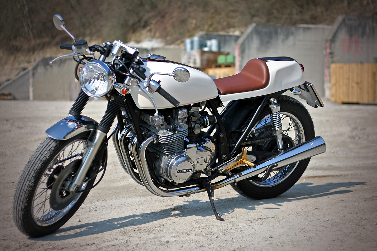 And Because I Am So Happy With It Made A Little Movie Of My Cafesaki 1979 Kawasaki Z650 Cafe Racer