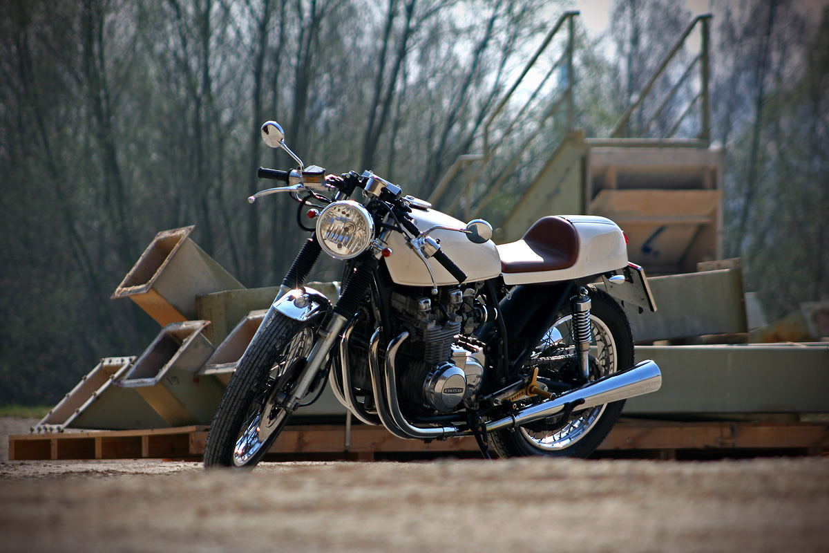 Garage Project Motorcycles Kawasaki Z650 Was Hanging Around The